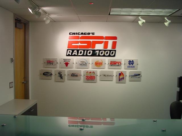 WMVP Logo Wall