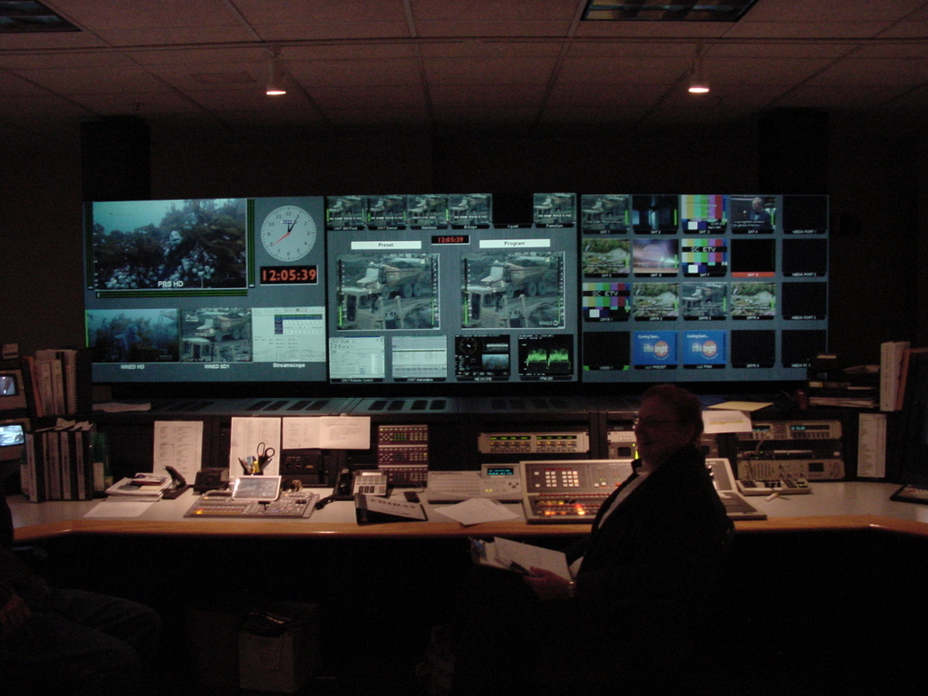Wned Tv Master Control