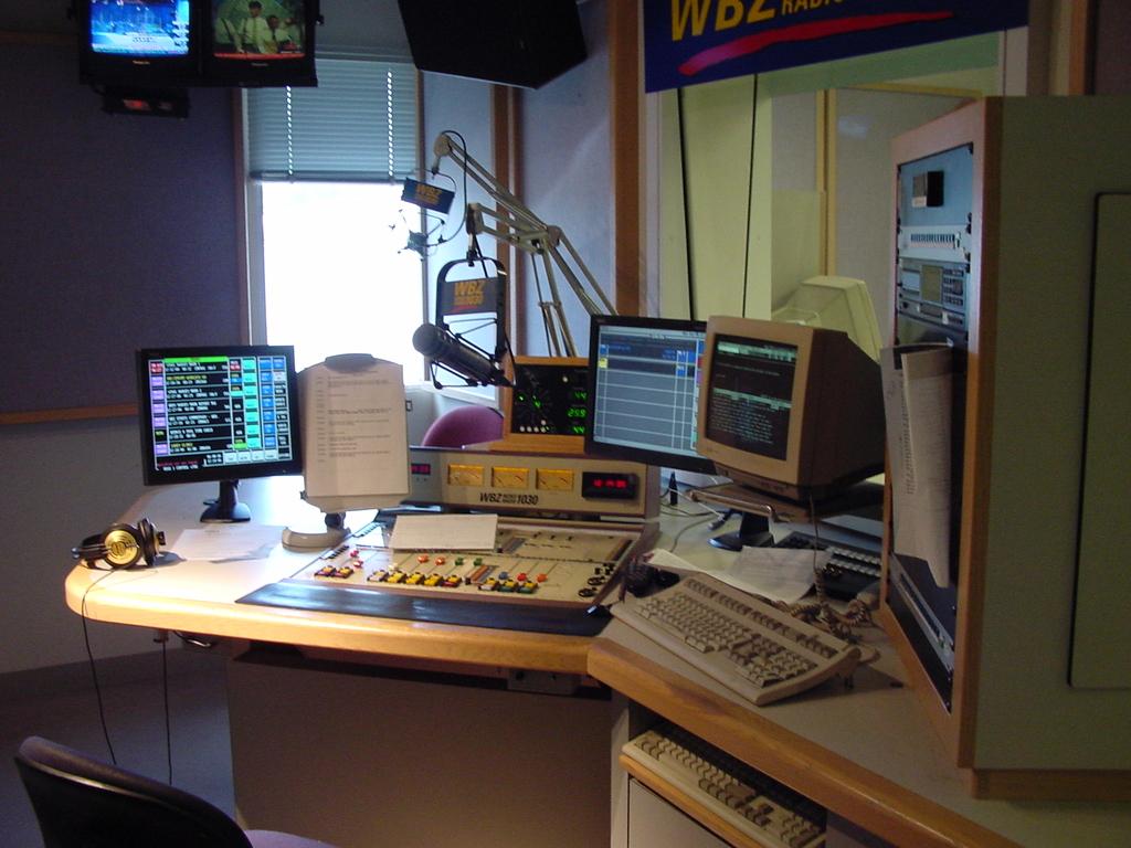 WBZ news studio